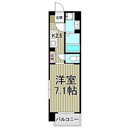 スクエアーズ鎌倉[310号室]の間取り