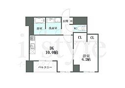 CASA NISHIKAWA[4階]の間取り