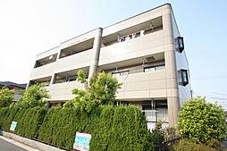 愛知県長久手市仲田の賃貸マンションの外観