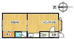 ソレイユIII[101号室]の間取り