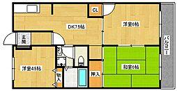 JAセピアII番館[5階]の間取り