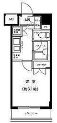 東京都大田区田園調布本町の賃貸マンションの間取り
