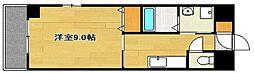 サムティ元浜RESIDENCE[9階]の間取り