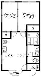 (仮)菅馬場2丁目新築(1844)[101号室]の間取り