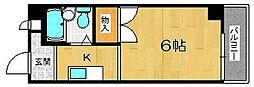 大阪府大阪市淀川区新北野3丁目の賃貸マンションの間取り