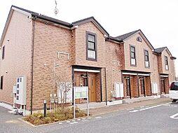 千葉県茂原市七渡の賃貸アパートの外観