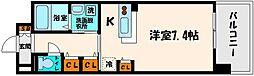 大阪府大阪市旭区清水3丁目の賃貸マンションの間取り