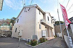 福岡県福岡市中央区赤坂3丁目の賃貸アパートの外観