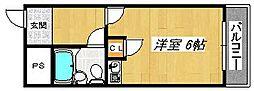 アネックス金銅[5階]の間取り