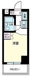 スカイコート蒲田第2[12階]の間取り