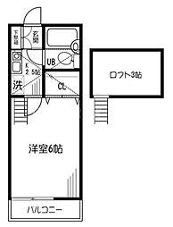 三ツ境ガーデンヒルズ[2階]の間取り