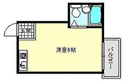 シャレールタナベ[2階]の間取り