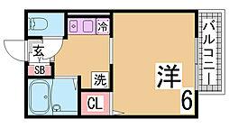 月見山駅 3.7万円