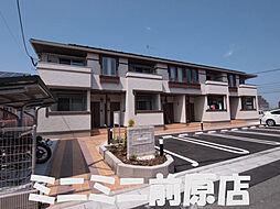 福岡県糸島市加布里の賃貸アパートの外観