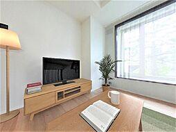 函館市美原3丁目 戸建て 4LDKの居間
