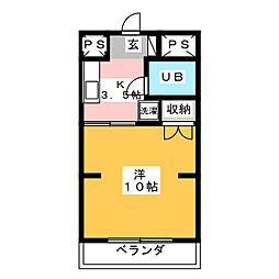 吉野屋ビルリーフコート[7階]の間取り