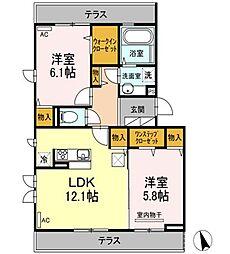(仮)D-room大泉学園町8[1階]の間取り