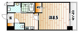 ニューサンリバー15番館[11階]の間取り