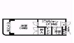 祇園尾前ビル[4階]の間取り