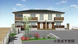 香川県高松市西山崎町の賃貸アパートの外観