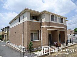 愛知県豊田市若林東町高根下の賃貸アパートの外観