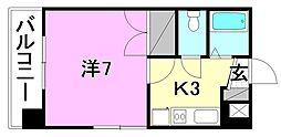 メゾン中村5[103 号室号室]の間取り