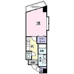 メゾンK・M[3階]の間取り