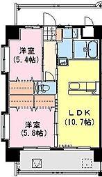 (仮称)神宮外苑西棟[1005号室]の間取り