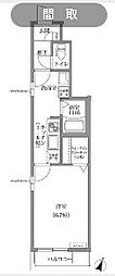 アルブル成城[101号室]の間取り