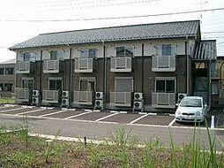 栃木県宇都宮市刈沼町の賃貸アパートの外観