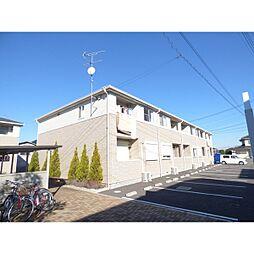 埼玉県川越市伊佐沼の賃貸アパートの外観