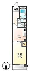 アーバンライフ金山II[2階]の間取り