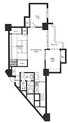 東十条マンション[4階]の間取り