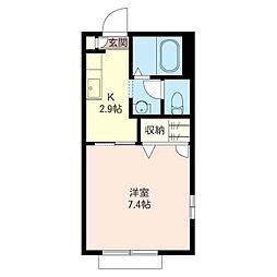 くすのきハウスA[1階]の間取り