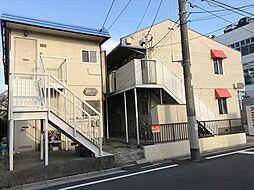 埼玉県川口市中青木4丁目の賃貸アパートの外観