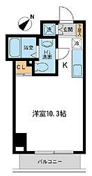 アーバンパーク新横浜[6階]の間取り