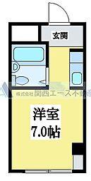 小阪CTハウス[5階]の間取り