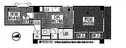 共立リライアンス青梅1[9階]の間取り