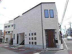 神奈川県茅ヶ崎市旭が丘の賃貸アパートの外観