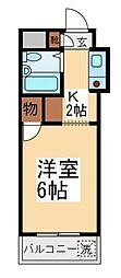 ウィンベルソロ朝霞第1[2階]の間取り