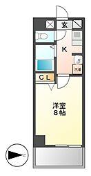 ベル名駅[2階]の間取り