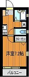 GRACE TSUKADA[2階]の間取り