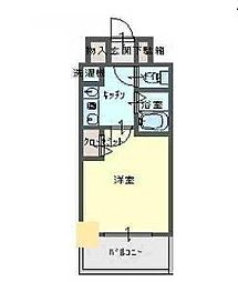 エスリード新梅田[8階]の間取り