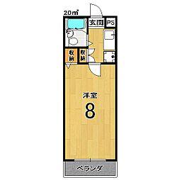 インペリアル桜[1階]の間取り