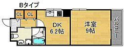 ブランドルチェ[4階]の間取り