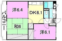 マジョーレ和田[103 号室号室]の間取り