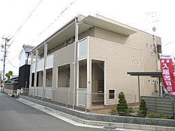 兵庫県尼崎市次屋2丁目の賃貸アパートの外観
