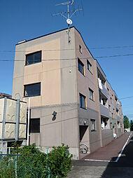 宮城県仙台市太白区中田3丁目の賃貸マンションの外観