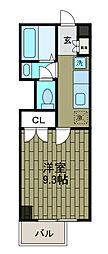 新百合 和田文ビル[6階]の間取り
