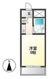 ドール神宮西[8階]の間取り